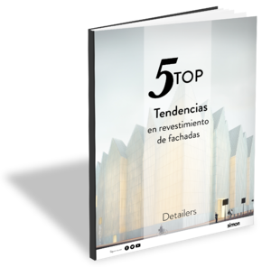 Trendbook Top 5 tendencias en revestimientos de fachadas